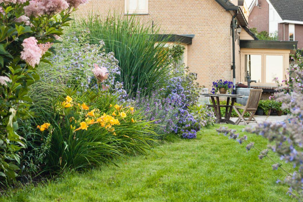 Bloemrijke tuin 02
