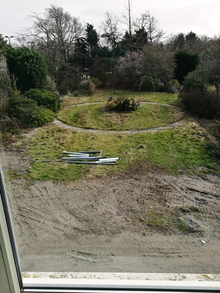 Foto achtertuin Wassenaar 1