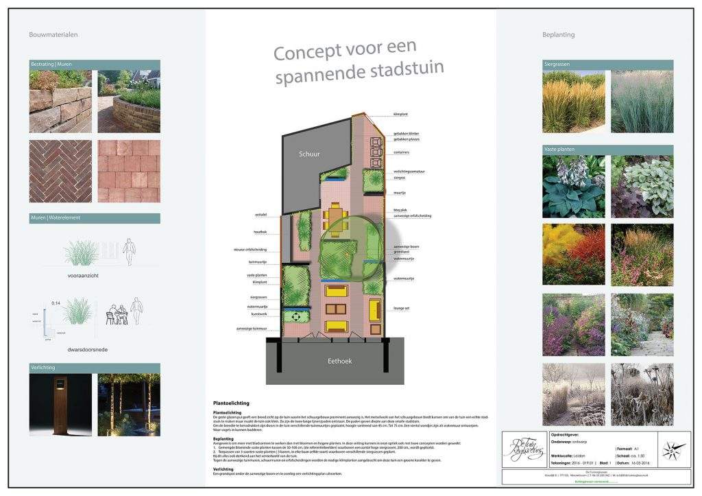 Exclusieve stadstuin Leiden