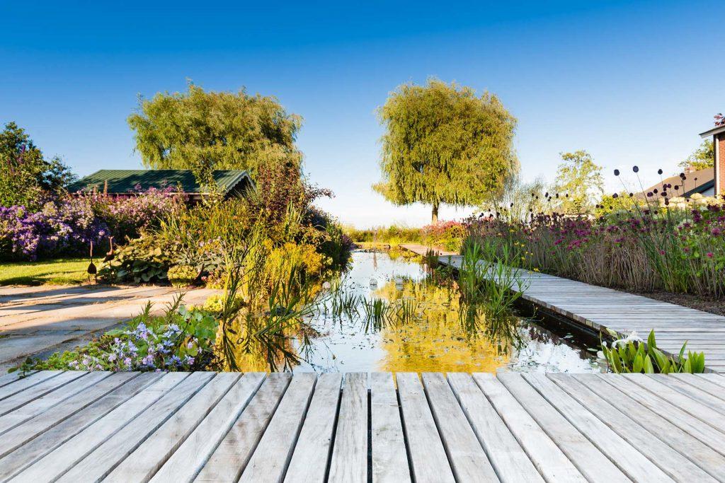 Voordelen tuinontwerp